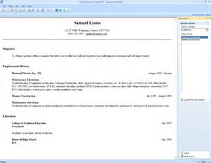 Resume Maker Program Clothesfreeware