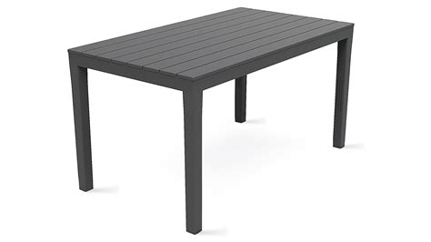 table jardin salon de jardin 4 places en plastique