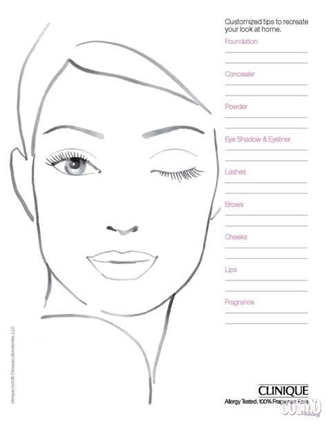 Pin By Gigi Remond Make Up Artist On Make Up Face Charts Visagie Bodypaint Oefeningen Makeup Chart Template