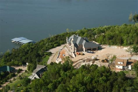 mansion on table rock lake spectacular lake front mansion in branson mo