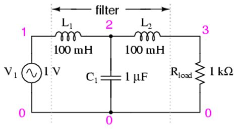 filter circuit using capacitor and inductor 8 6 resonant filters