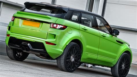 light green range rover range rover evoque in lamborghini green pearl by kahn