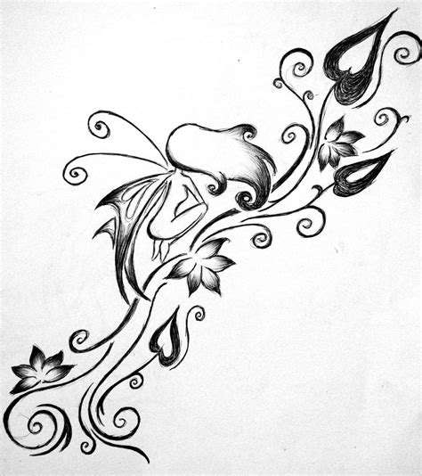 fairy and flower tattoo designs tattoos designs ideas and meaning tattoos for you