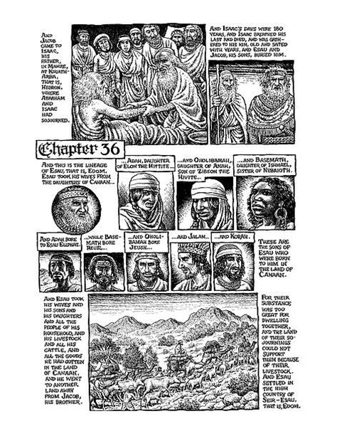 the book of genesis illustrated the bible illuminated r crumb s book of genesis hammer