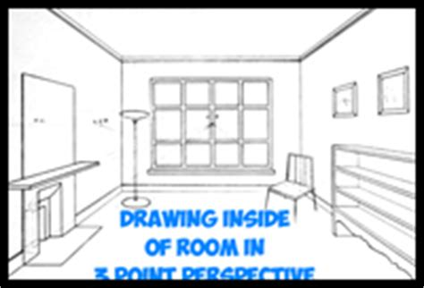 how to draw a 3d room three point perspective drawing lessons how to draw