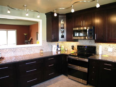 mikes stove wall and cut out contemporary