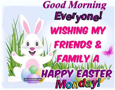 good morning happy easter monday pictures photos and