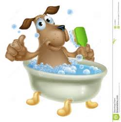 grooming bath stock vector image 41478551