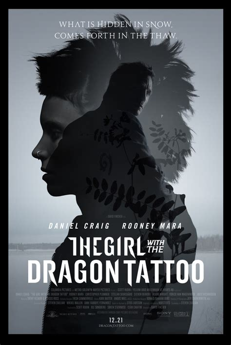 girl   dragon tattoo poster collider