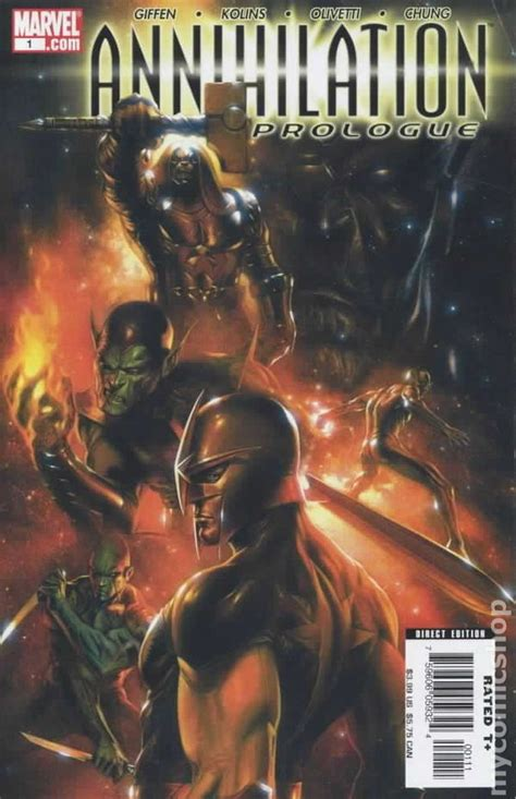 annihilation conquest omnibus 0785192700 annihilation prologue 2006 comic books
