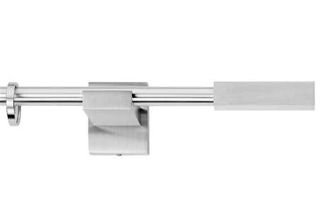bacchette per tende a vetro bastoni per tende in acciaio cromato e satinato