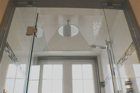 Glass Shower Toronto by Toronto Glass Shower Bathroom Tile Renovation Remodel