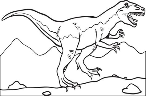 free coloring pages of dinosaurus t rex