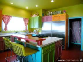 Colorful Kitchens Ideas by Beach Dream House Design Colorful Kitchen Design Magzmagz