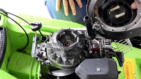 rasenmaeher mit einem briggsstratton motor reparieren teil
