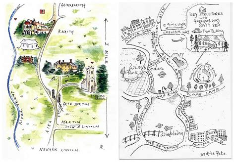 printable wedding directions original hand painted wedding stationery maps