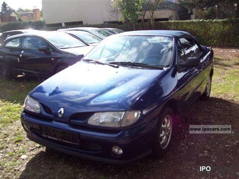 1998 Renault Megane Cabriolet 1 6e With El Verdeck Car