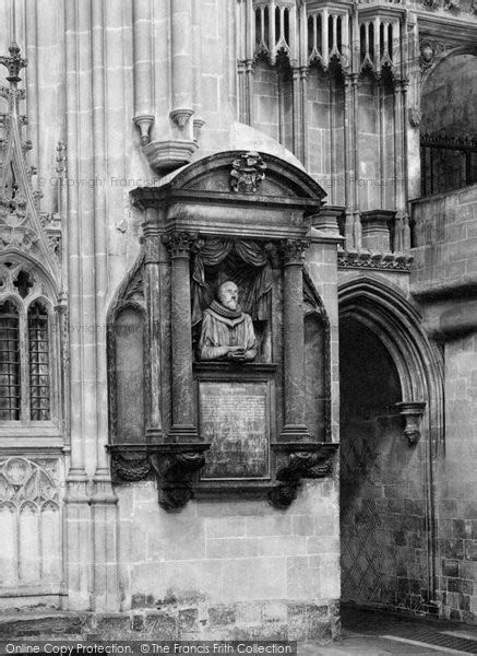 photo  canterbury cathedral  chapman monument