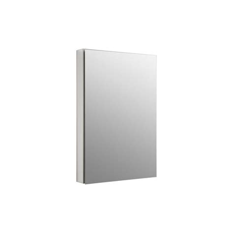 kohler recessed medicine cabinet kohler catalan 24 125 in x 36 in recessed or surface
