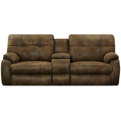 art van reclining sofa art van power reclining console loveseat 17103223
