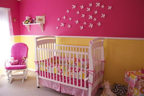 full pink color girl baby room ideas decorate summer fun colors baby girl room project nursery