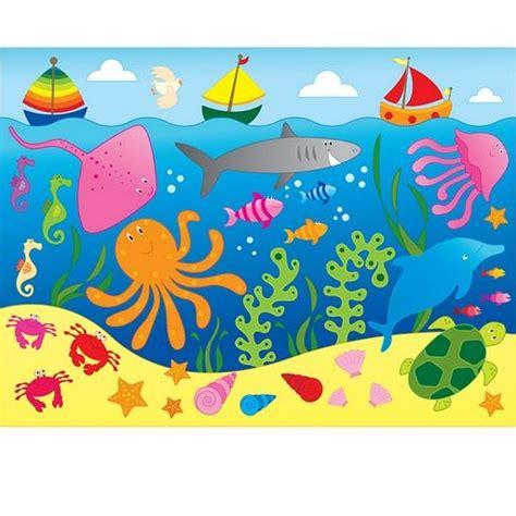 del dibujo infantil a dibujos infantiles de peces a color buscar con google