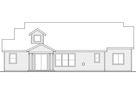 bungalow floor plan with elevation craftsman house plans azalea 31 028 associated designs