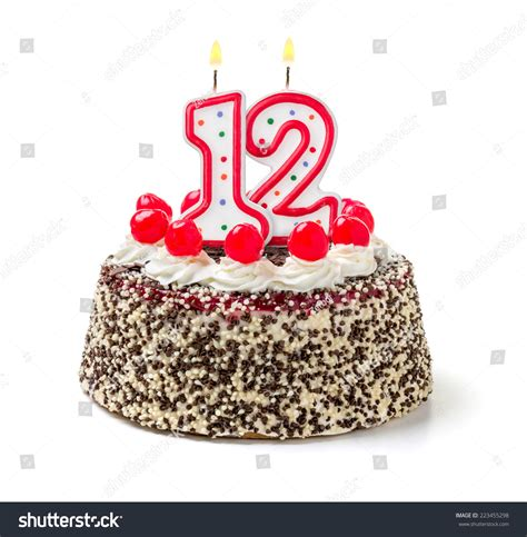 12 happy birthday cake vector images happy birthday cake image gallery number 12 candle