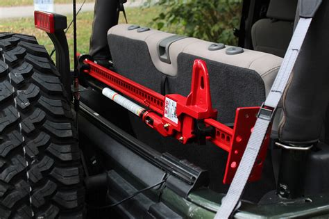jeep wrangler mount hi lift 174 rc 875 roll cage mount for 07 18 jeep