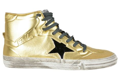 gold sneakers golden goose deluxe brand sneakers 2 12 donna oro in gold