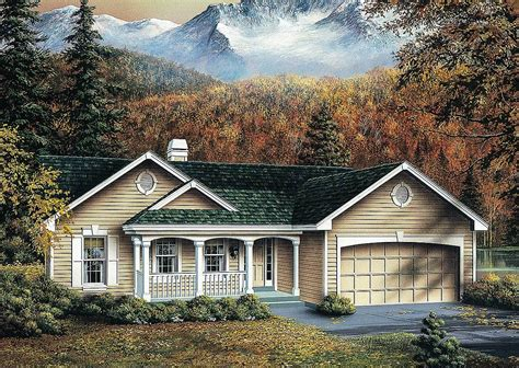 Affordable Ranch House Plans by Affordable Atrium Ranch 5733ha Architectural Designs