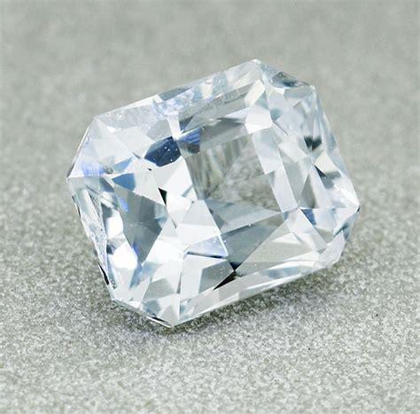 2 5 Ct White Sapphire Ceylon ceylon white sapphire 1 23 ct cutting