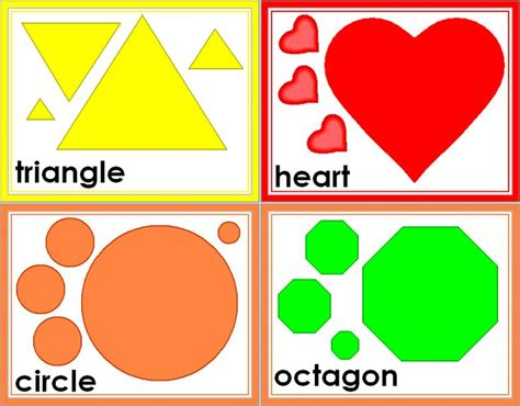 free shape templates for card free shapes free printable shape flashcards great for