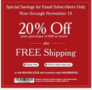 ll bean coupons llbean coupon codes and discount catalog