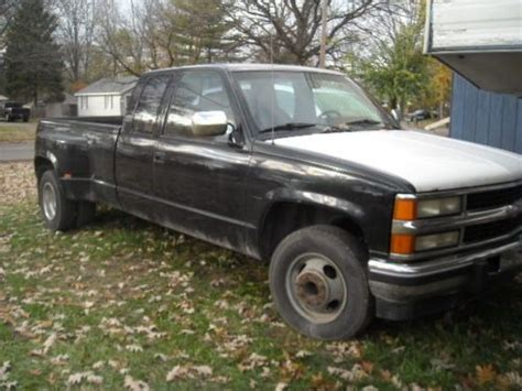 how to fix cars 1994 chevrolet 3500 parking system buy used chevy 1 ton 3500 dually in flint michigan united states