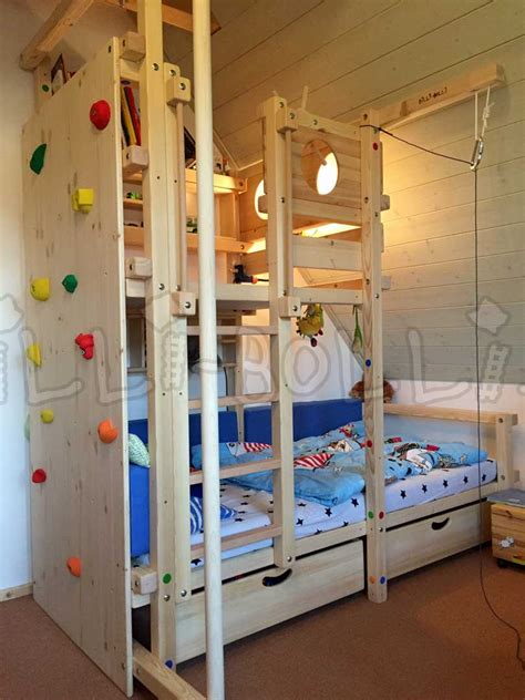 kinderbett umbauen zum schreibtisch dachschr 228 genbett billi bolli kinderm 246 bel