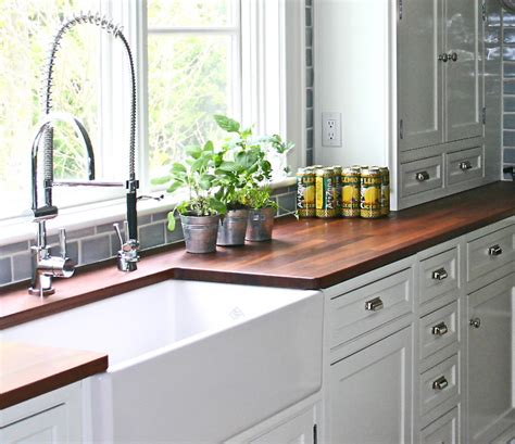 Timber Kitchen Cabinets by Choosing A Replacement Countertop Before Hell Freezes Over