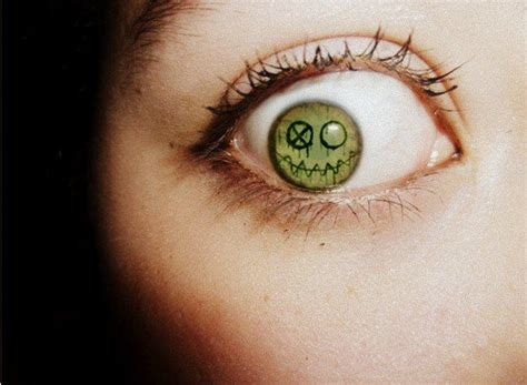 fun ghoul frank iero inspired eye by ier0 on deviantart