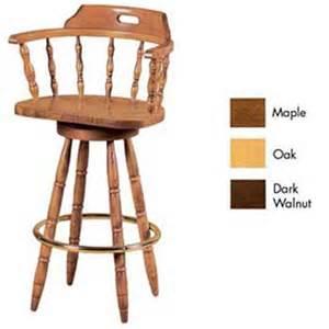 solid wood swivel bar stools furniture imports captains swivel bar stool solid wood seat