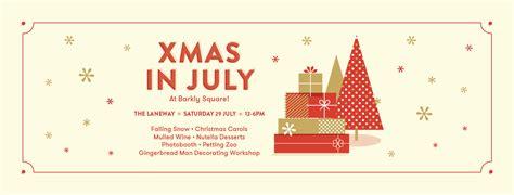 celebrate xmas in july at barkly square melbourne