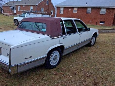 1993 cadillac sedan 1993 cadillac sedan 4 door 4 9l v8 white