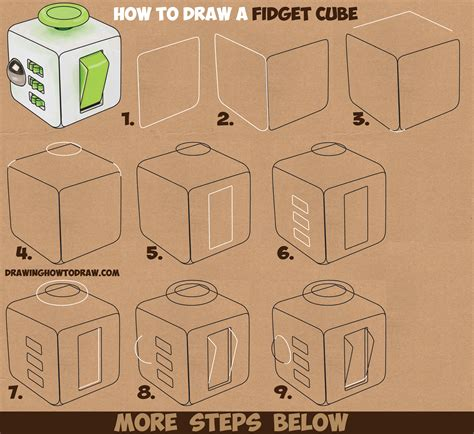 easy kids drawing lessons how to draw a cartoon house how to draw a fidget cube easy step by step drawing