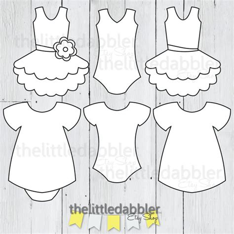 onesie template for baby shower banner dress and tutu templates baby shower girl onesie baby dress