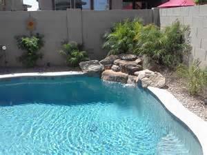 custom built water features by national pools spas gilbert az