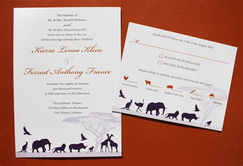 Zoo Themed Wedding Invitations by Zoo Wedding Invitation Wording Yaseen For