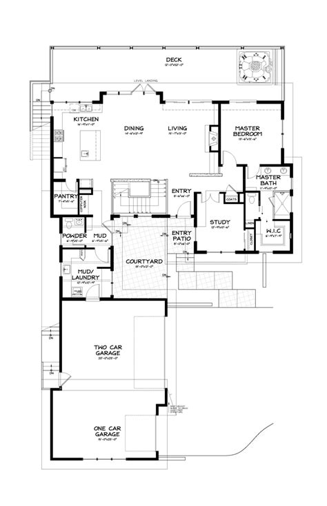 contemporary style house plan 3 beds 3 5 contemporary style house plan 3 beds 2 5 baths 2687 sq