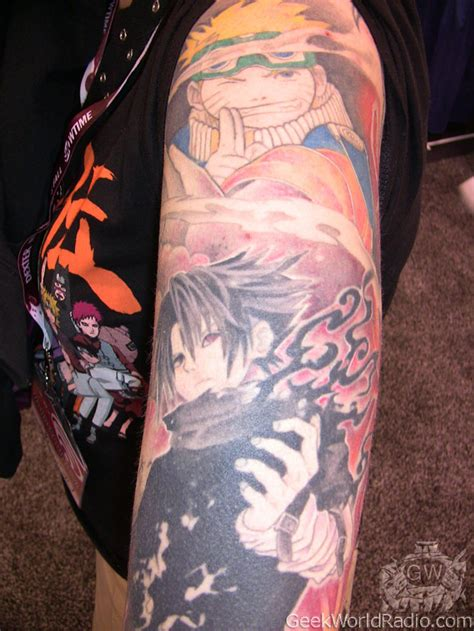 sasuke tattoo world wondercon 2012 photos tattoos of wondercon