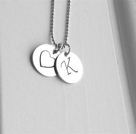 K Necklace k necklace letter k necklace initial necklace