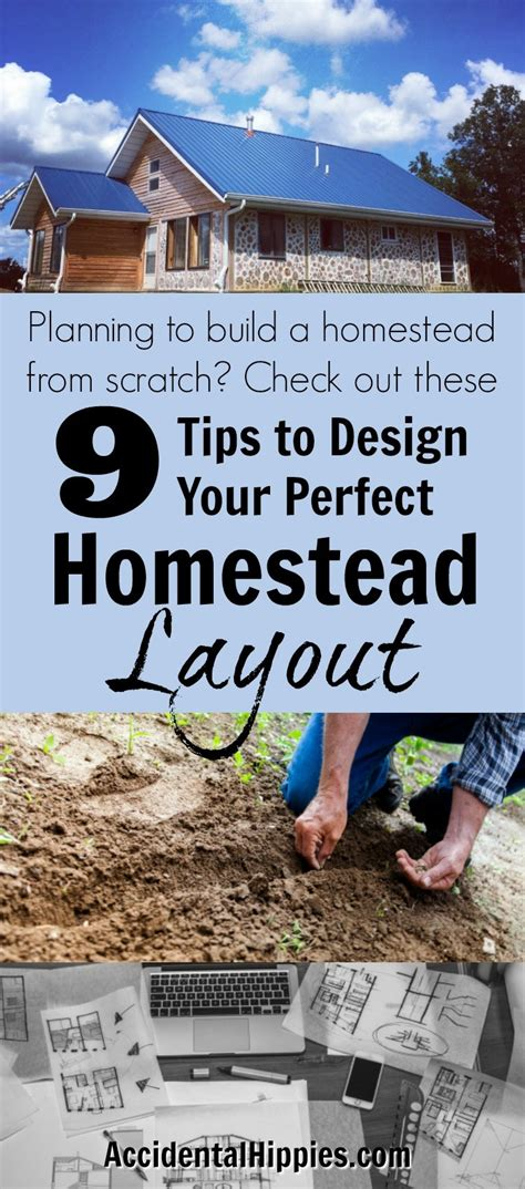 how to design your ideal homestead grid 9 for planning the homestead layout hippies