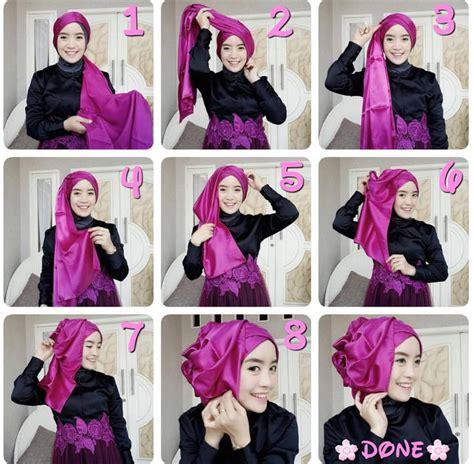 tutorial berhijab yang mudah tutorial cara memakai hijab simpel yang mudah modelbusana